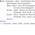 Code Rocket Pseudocode Editor in German Screenshot